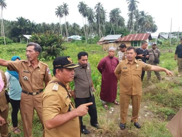 Bupati Kunjungi Lokasi Pembangunan RTLH