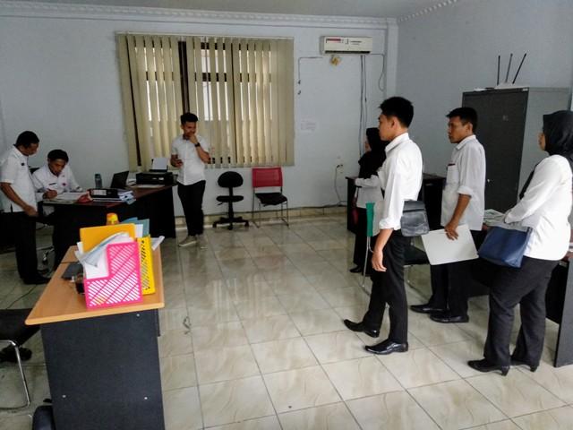 BKPP Kota Kotamobagu Lakukan Sidak di Tiga SKPD, 28 PNS dan 20 THL Tak Ada di Tempat
