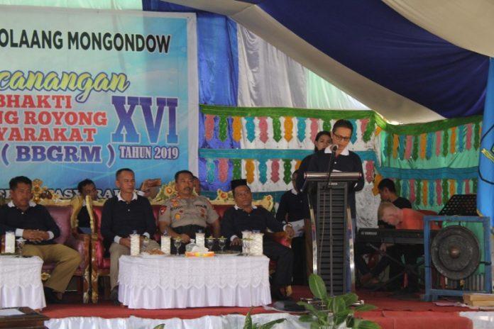 Wakil Bupati Bolmong Canangkan Kegiatan BBGRM ke-XVI Tahun 2019