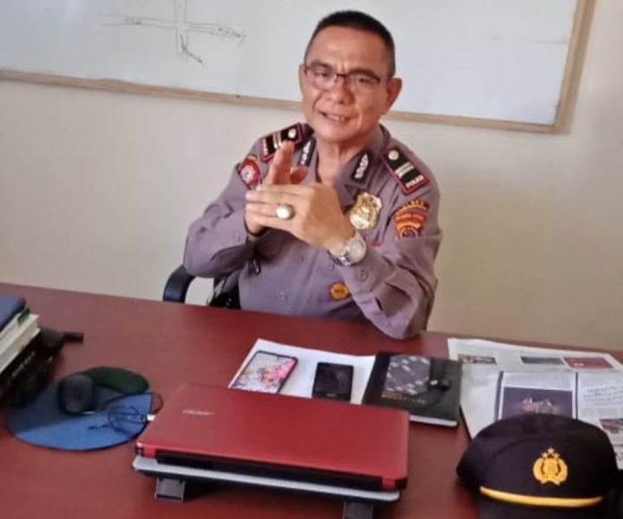 Polsek Bolaang Buru Pelaku Pembakaran Hutan di Bolmong