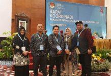 KPU Boltim Ikut Rakor Persiapan Pilkada Serentak Tahun 2020