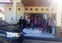 Polsek Posigadan Berhasil Gagalkan Pengiriman Miras Jenis Cap Tikus ke Gorontalo