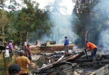 Bayi Malang Sembilan Bulan Ikut Terbakar Bersama Rumah Warga di Tobongon