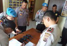 Polres Kotamobagu Lakukan Pemeriksaan Senpi dan Randis di Tiga Polsek Wilayah Bolsel