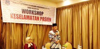 Pemkab Bolsel Gelar Workshop Keselamatan Pasien