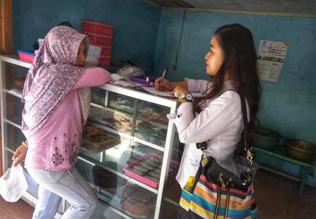 Dinkes Kotamobagu Terus Lakukan Pengawasan Penjual Makanan