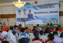 Wali Kota Kotamobagu Hadiri Peringatan Hari Anak Nasional