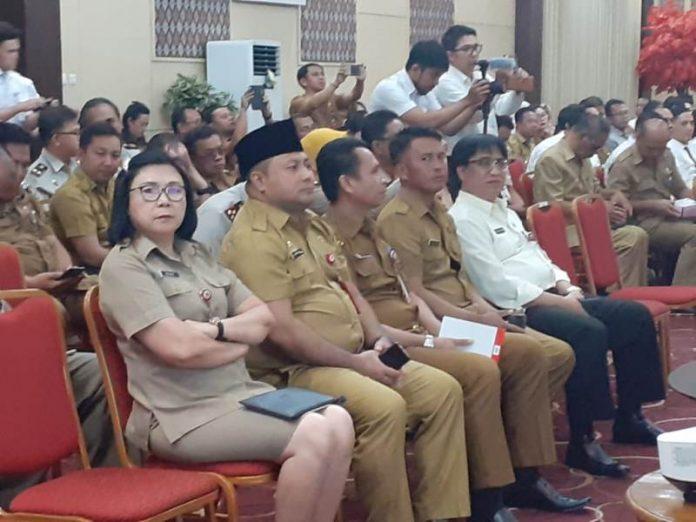 Sekda Bolsel Hadiri Rakor Optimalisasi Pendapatan dan Manajemen Aset Daerah