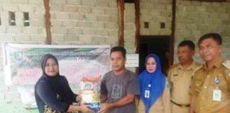 DKP Bolmong Salurkan 10 Ton Beras