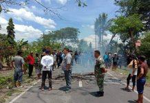 Dumoga Kembali Memanas, Warga Tutup Akses Jalan Trans Sulawesi