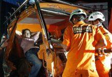 Video: Basarnas Manado Selamatkan Supir Terjepit dalam Truk