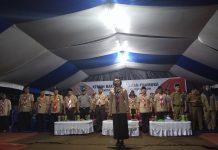 Bupati Buka Kemah Bakti ke-IV Gerakan Pramuka Kwarcab Kabupaten Bolmong