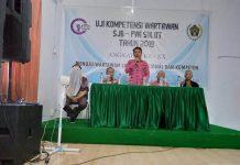 Sekda Bolmong Buka UKW Angkatan ke-XX PWI Sulut