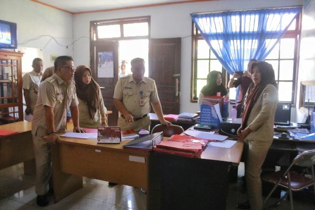 Wawali Kembali Lakukan Sidak Disiplin ASN Kota Kotamobagu