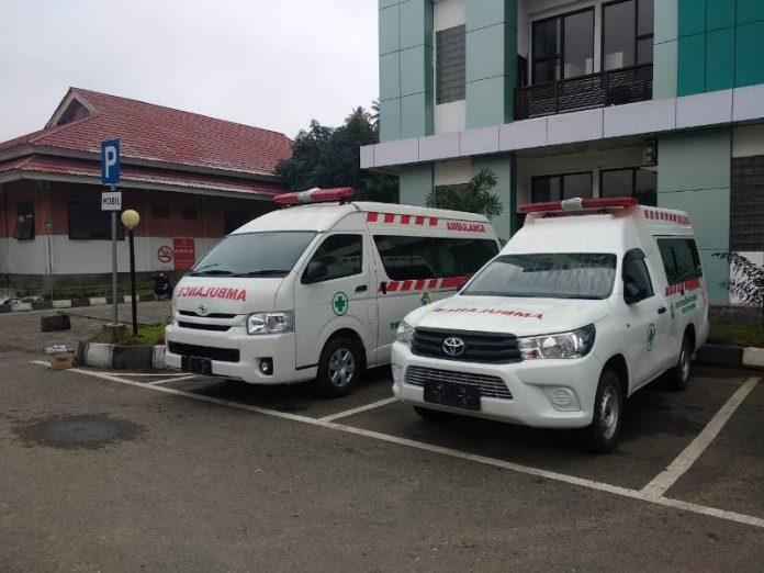 RSUD Kota Kotamobagu Ketambahan Ambulance Dua Unit
