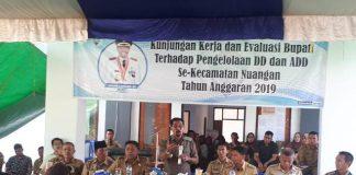 Bupati Boltim Gelar Evaluasi Dandes dan ADD se-Kecamatan Nuangan