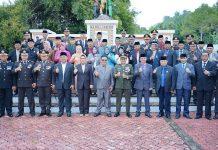Peringati Hari Pahlawan, Pemkot Kotamobagu Tabur Bunga di TMP