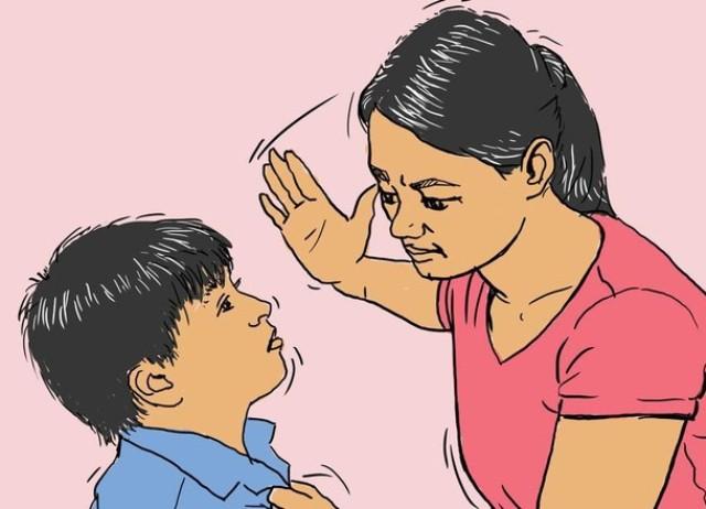 Gara-Gara Bolpoin, Seorang Ibu di Poigar Aniaya Anaknya dengan Cambuk Sapi
