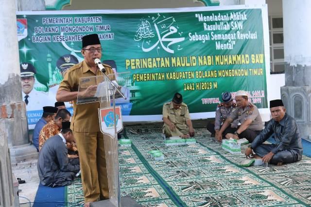 Pemda Boltim Gelar Peringatan Maulid Nabi Muhammad SAW