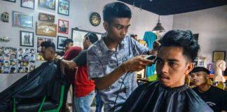 Bisnis Barbershop di Kotamobagu Cukup Menjanjikan
