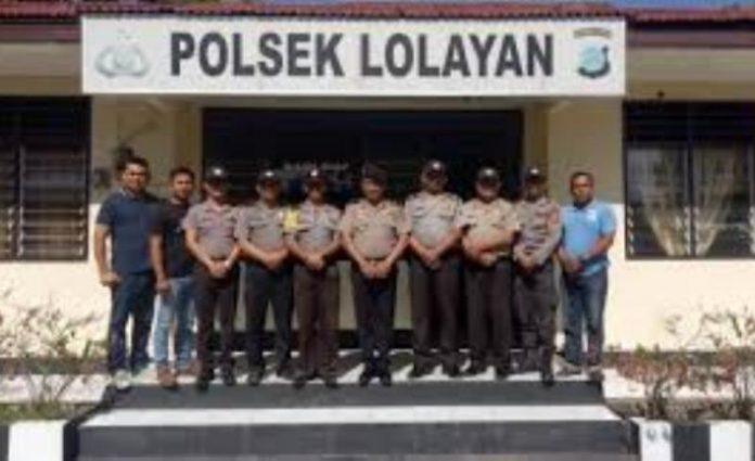 Polsek Lolayan Gelar Razia Amankan Pilsang