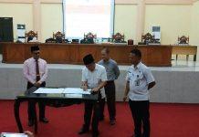 DPRD Bolmong Gelar Paripurna Penandatanganan Kesepakatan KUA-PPAS APBD Tahun 2020