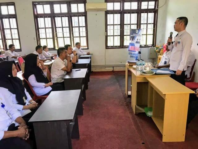 29 PNS Kota Kotamobagu Ikuti Ujian Dinas Kenaikan Pangkat