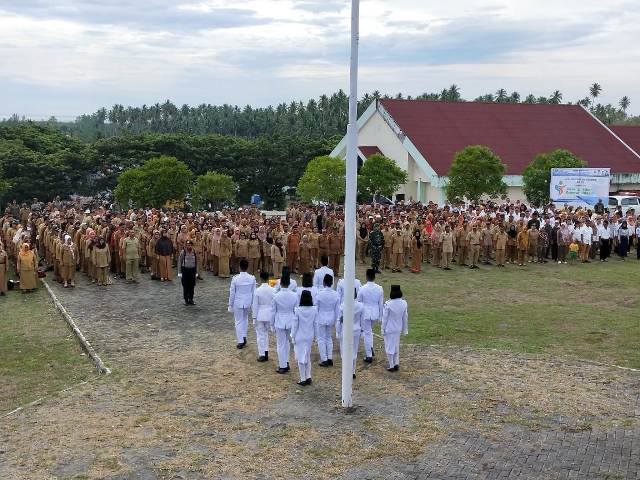 Bupati Boltim Pimpin Upacara Peringatan Hari Pahlawan Tahun 2019