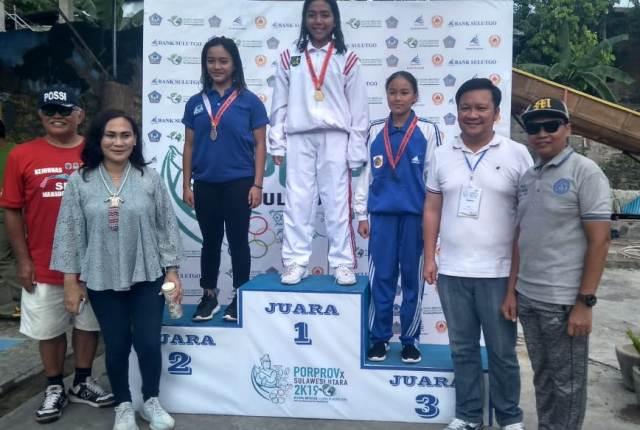 Atlet Selam Bolmong Sumbang Dua Medali Emas dan Tiga Perunggu