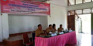 DKP Bolmong Gelar Rakor Dewan Ketahanan Pangan