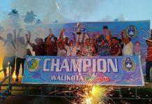 Bogani Putra Biga Jawara Wali Kota Cup 2019
