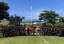 Kesbangpol Bolmong dan Tarikh 19 Bogani Gelar Kegiatan Bela Negara