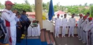 Wabup Yanny Lepas Kontingen Bolmong untuk Mengikuti Porprov