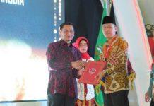 Pemkab Bolsel Kembali Terima Penghargaan dari Kementerian Hukum dan HAM