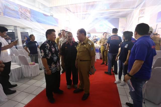 Wakil Wali Kota Kotamobagu Hadiri Penutupan Porprov Sulut ke–X