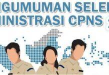 Ini Nama-nama yang Dinyatakan Lulus Administrasi CPNS 2019 di Lima Kabupaten dan Kota se-BMR
