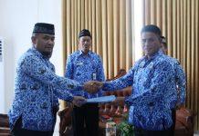Rio Lombone Jabat Plt Kepala Inspektorat Bolmong