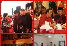 Iskandar Hadiri Perayaan Natal Keluarga Besar PDI-P di Manado