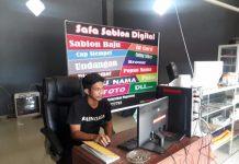Safa Sablon Digital Dibuka di Kotamobagu