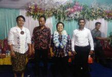 Amalia Disambut Hangat Masyarakat Nusa Utara dalam Perayaan Adat Tulude