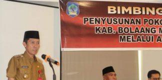 Libatkan Empat OPD Teknis, Bupati Iskandar Kamaru Buka Bimtek Penyusunan Pokok Pikiran DPRD Bolsel