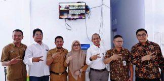 Diskominfo dan LKBN ANTARA Pasang TVC Media Indoor di Ruang Poliklinik RSUD Bolsel