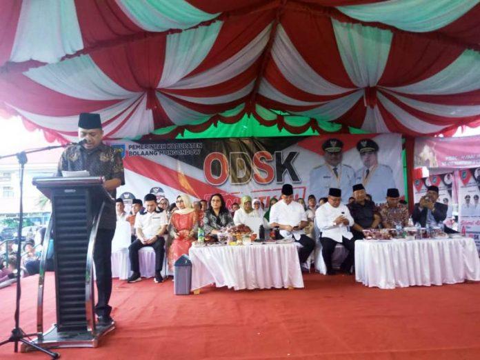 Bupati Bolmong Sambut Kunjungan Gubernur dan Wagub Sulut