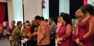 Wakil Wali Kota Kotamobagu Hadiri Syukuran 4 Tahun Kepemimpinan OD-SK