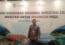 Pemkot Kotamobagu Hadiri Rakor Nasional Investasi Tahun 2020