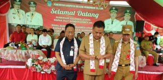 Di Hadapan Gubernur Sulut, Bupati Iskandar Kamaru Paparkan SDA dan Capaian Prestasi Pemkab Bolsel