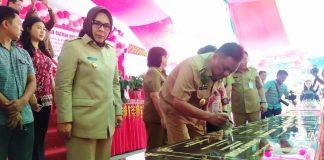 Wali Kota Kotamobagu Dampingi Gubernur Resmikan Proyek Dinas Pendidikan Provinsi Sulut