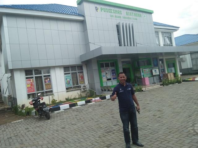 JCM Tinjau Proses Pelayanan Kesehatan dan Peralatan Medis di Puskesmas Bintauna