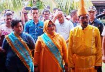 """Amalia Diberikan Gelar """"Sangiang"""" dari Tokoh Adat Nusa Utara"""