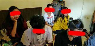 Asyik Pesta Miras di Hotel Sapadia Kotobangon, 7 ABG Ini Diamankan Satpol-PP